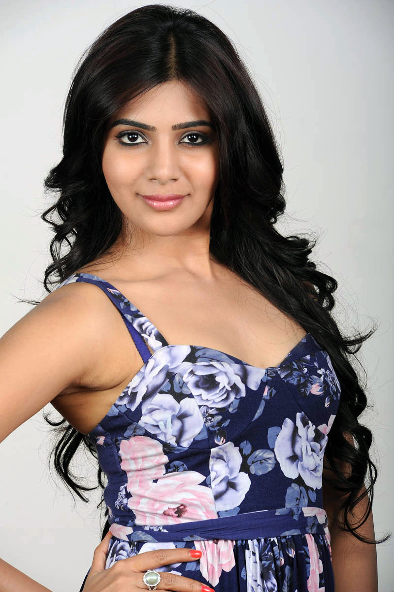 Actress Samantha in modern gown