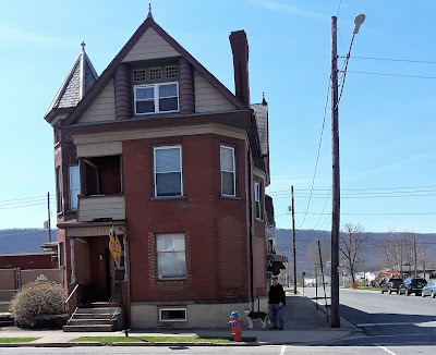 Lovely architecture in dog friendly Lock Haven, Pennsylvania