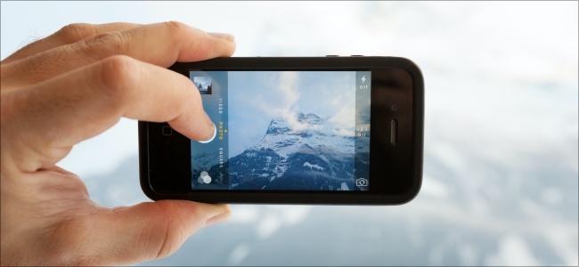 تطبيق كاميرا iPhone