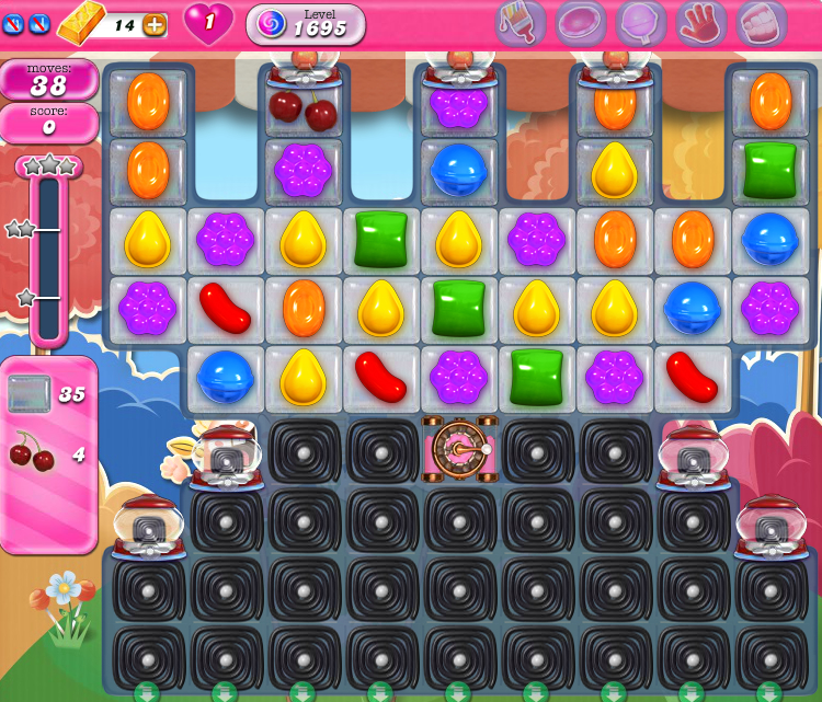 Candy Crush Saga 1695