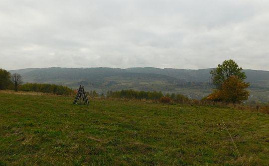 Masyw Koskowej Góry z okolic wierzchołka Babicy Zachodniej.