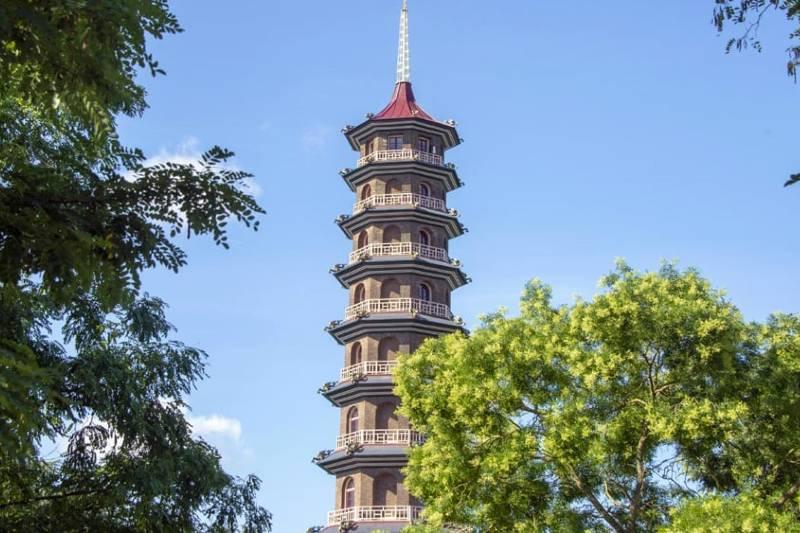 Gran Pagoda en los Jardines de Kew (Londres)