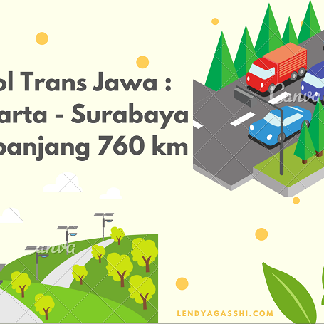 Tol Trans Jawa : Jakarta-Surabaya Sepanjang 760 km