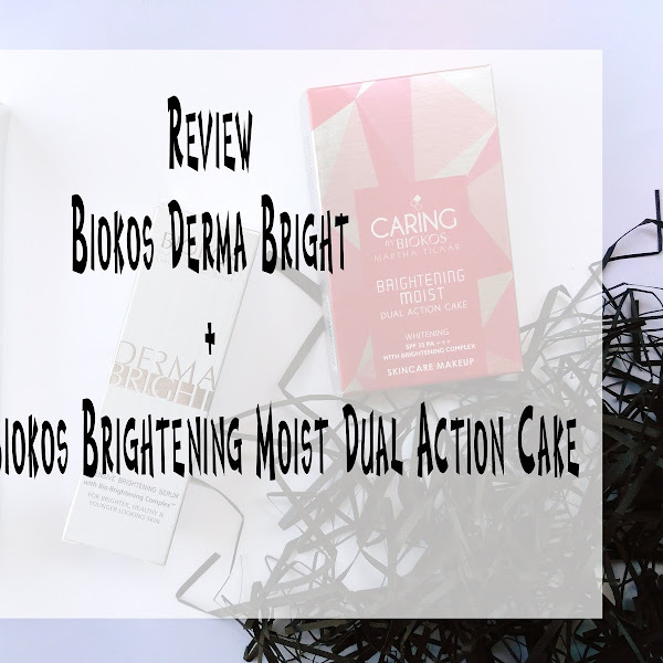 Review Biokos Derma Bright + Caring Color by Biokos Brightening Moist Dual Action Cake