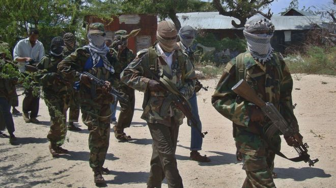 """Suspected al-Shabab militants have killed at least six people in an attack in north-east Kenya, the regional governor said.  Ali Roba, governor of Mandera County, said one person had also been seriously injured in the attack. But security guards had been able to save 27 other people present at the public works site, he said. Kenya's Daily Nation says the attack targeted """"non-locals"""". Al-Shabab, an Islamist militant group, is battling the UN-backed government in Somalia, and has carried out a string of attacks in neighbouring Kenya. Militants have carried out frequent attacks on the Mandera region, which borders Somalia. They target people who are not from the local area and security forces, Kenyan papers say. Who are Somalia's al-Shabab? Rivalry among East Africa's militants Al-Shabab: A defector's tale Kenya's The Standard said the attack happened in the early hours of Thursday at a residential plot in Bulla public works. Attackers used a grenade to break in and then shot at those inside, it reported, citing police. """"From the nature and style of the attack, it will obviously be al-Shabab,"""" Governor Roba told Reuters news agency by telephone. """"If not for the quick response by our security forces, we would be talking of many more casualties now."""""""