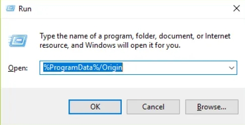 Origin Client not Loading Anything?
