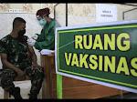 Vaksinasi Massal TNI – Polri Targetkan 10.000 Orang