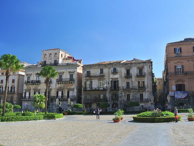 ulice w Palermo, stolica Sycylii, wyspa, Włochy