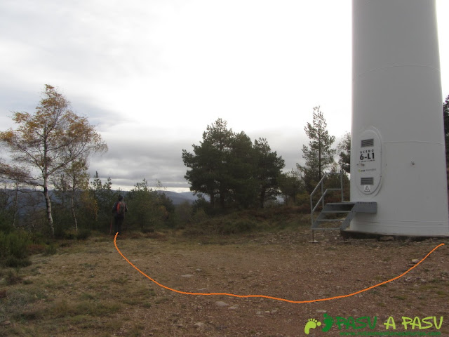 Último aerogenerador de Piedras Apañadas