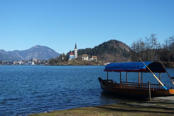 slovénie lac bled île pletna