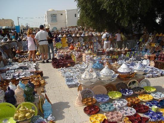 الصناعة التقليدية جربة تونس