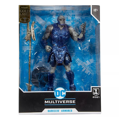San Diego Comic-Con 2021 Exclusive Justice League Movie Armored Darkseid DC Multiverse Action Figure by McFarlane Toys x Target