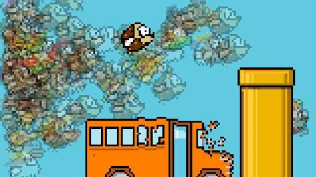 Flappy Bird: Παίξτε το battleroyale mode!!