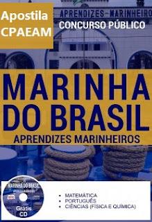 Apostila da Marinha do Brasil (CPAEAM) Aprendizes-Marinheiros 2017
