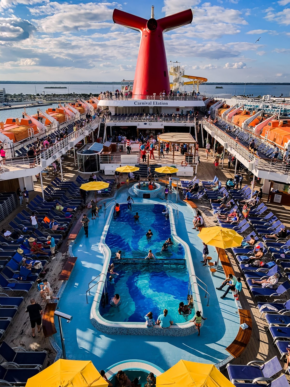 Carnival cruise lines, elation carnival, balcony view, what to expect when cruising to Bahamas,