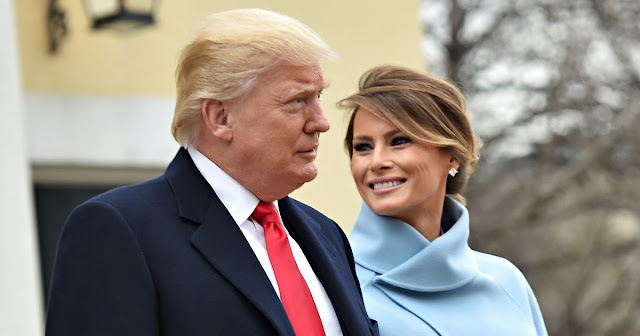 PRESIDENT DONALD AND FIRST LADY MELANIA TRUMP, BRINGING GLAMOR BACK TO THE White House.