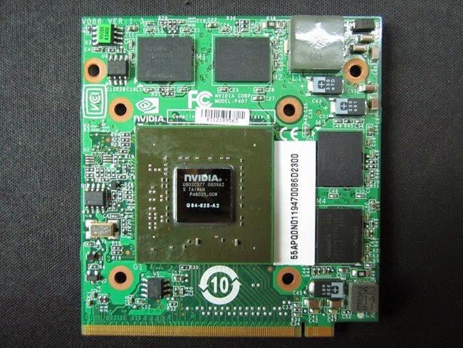 Service Laptop Kerusakan VGA Notebook