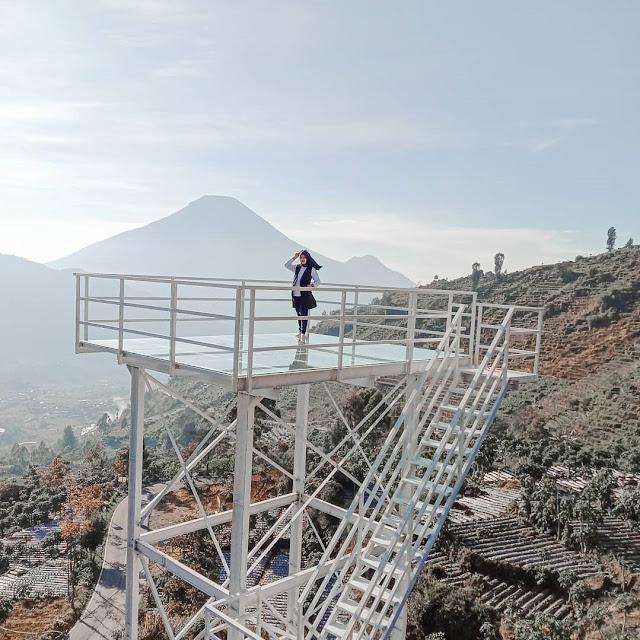 Bukit Awan Sikapuk Parikesit Kabupaten Wonosobo