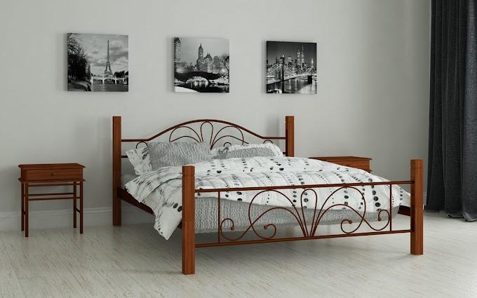 Кровать металлическая Изабелла 120х190/200 ТМ Мадера