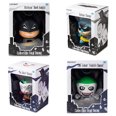 "Batman & The Joker Dunny 5"" Vinyl Figures by Kidrobot"