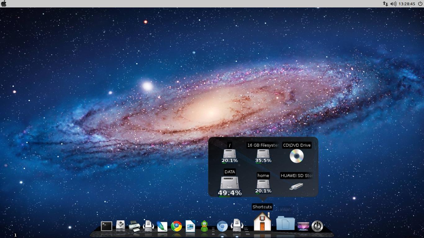 NAMAKU TUX : Linux Desktop, Everyday    : How To Install Mac OS X