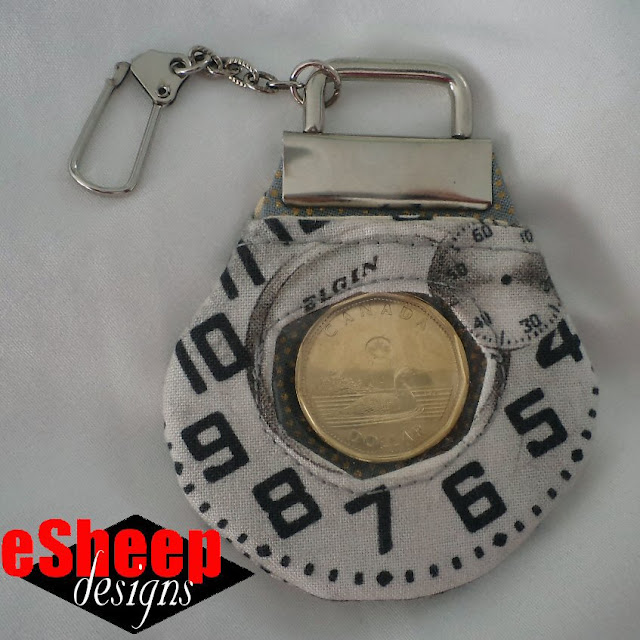 DIY Designer Bag Tag by eSheep Designs