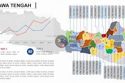 Peta Jawa Tengah PPTX (Powerpoint)