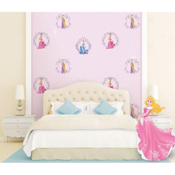 Các lưu ý khi chọn giấy dán tường cho phòng của bé gái