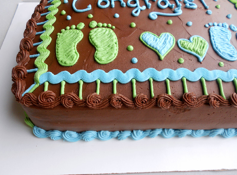 Baby Shower Twins Cake Confessions Of A Confectionista