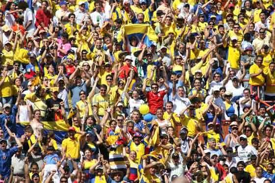 Mundial Sub 20: EDUCACION FISICA: SEDES DE LA COPA MUNDIAL SUB-20 COLOMBIA
