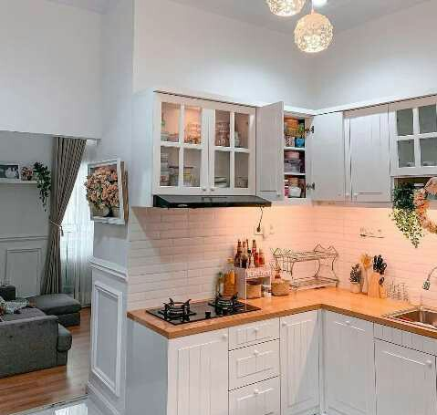 l shaped kitchen design plans