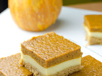 Pumpkin Cheesecáke Bárs Recipe