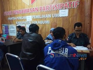 Pendaftar untuk Panwascam di Bawaslu Kabupaten Sukabumi