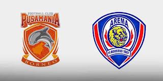 Arema VS Pusamania Borneo FC