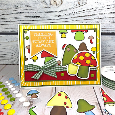 Lisa Mears Card Designs - The Stamps of Life April Card Kit - Card 4