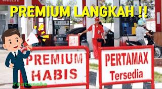 Premium Akan Di Hapus Namun Saat ini Langkah