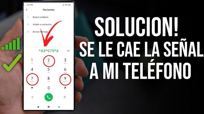SOLUCION! MI TELEFONO SE LE CAE LA SEÑAL METODO DEFINITIVO