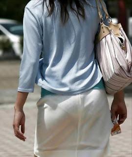 mujeres culonas transparentando calzon