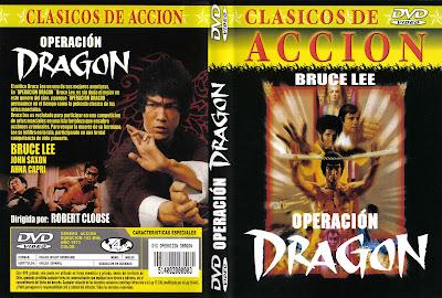 Carátula dvd: Operación dragón /Enter the Dragon
