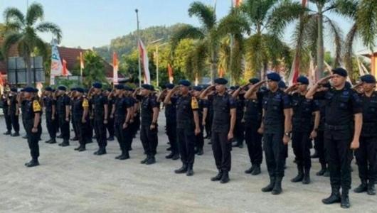 Polisi Kirim Pasukan Elit ke Papua, Ratusan Brimob Sulbar Berangkat