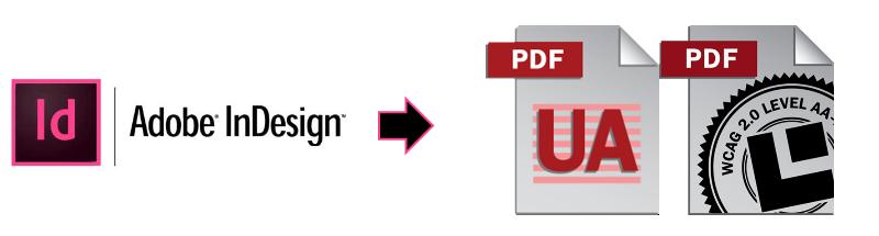 Crear PDF accesibles desde InDesign