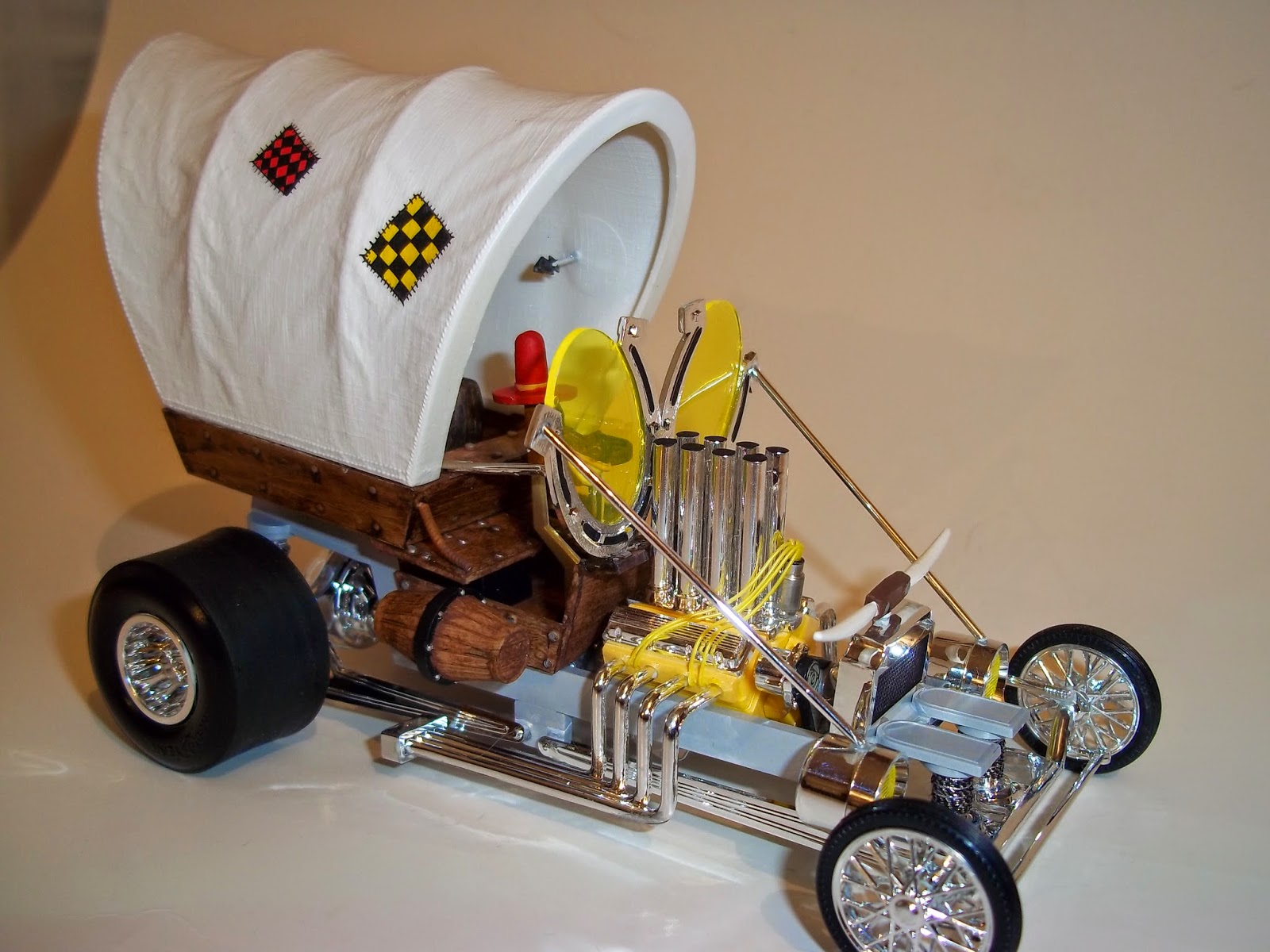 Build A Ford >> living plastic: A few models just for fun..