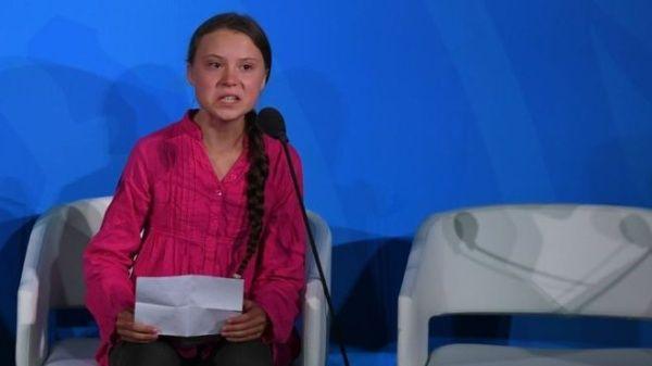 Greta Thunberg advierte en ONU: El cambio viene, les guste o no