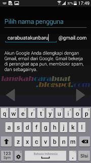 Langkah Langkah Membuat Email Baru di Google Mail Lewat HP