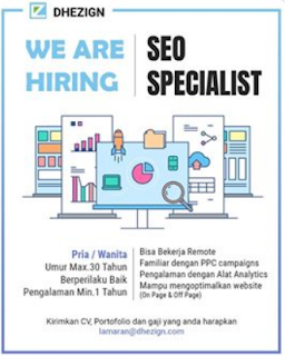We Are Hiring at PT. DheZign Online Solution Yogyakarta Februari 2018.
