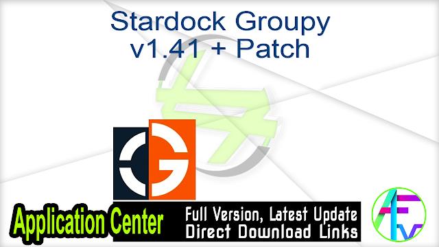 Stardock Groupy v1.41 + Patch