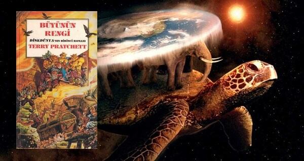 Kitap yorumu: Terry Pratchett - Büyünün Rengi (Diskdünya Serisi - 1. Kitap)