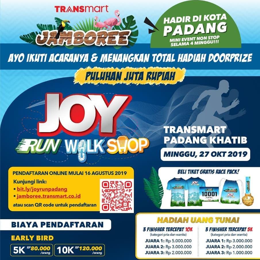 Joy: Run Walk Shop - Transmart Padang Khatib • 2019
