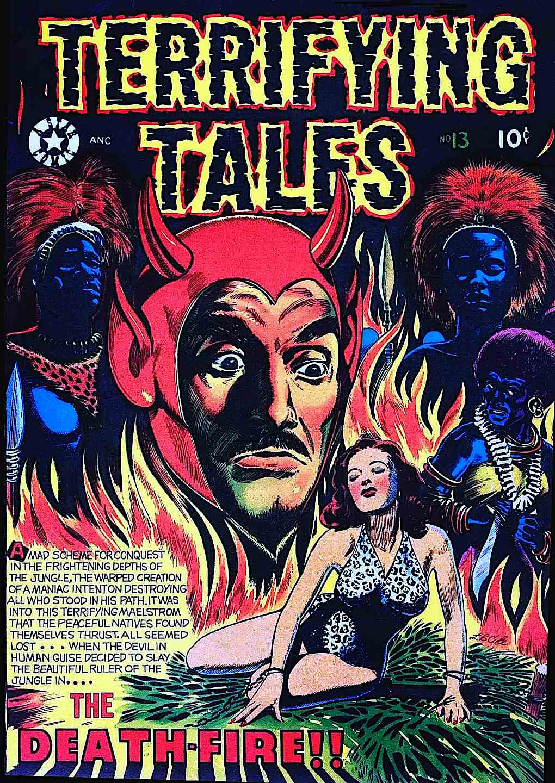 L.B. Cole Terrifying Tales