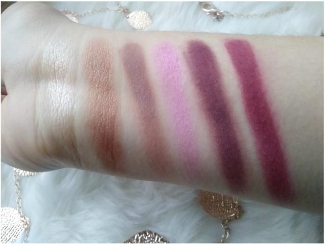 Colourpop Pretty Much Pigment Eyeshadow Palette Swatches